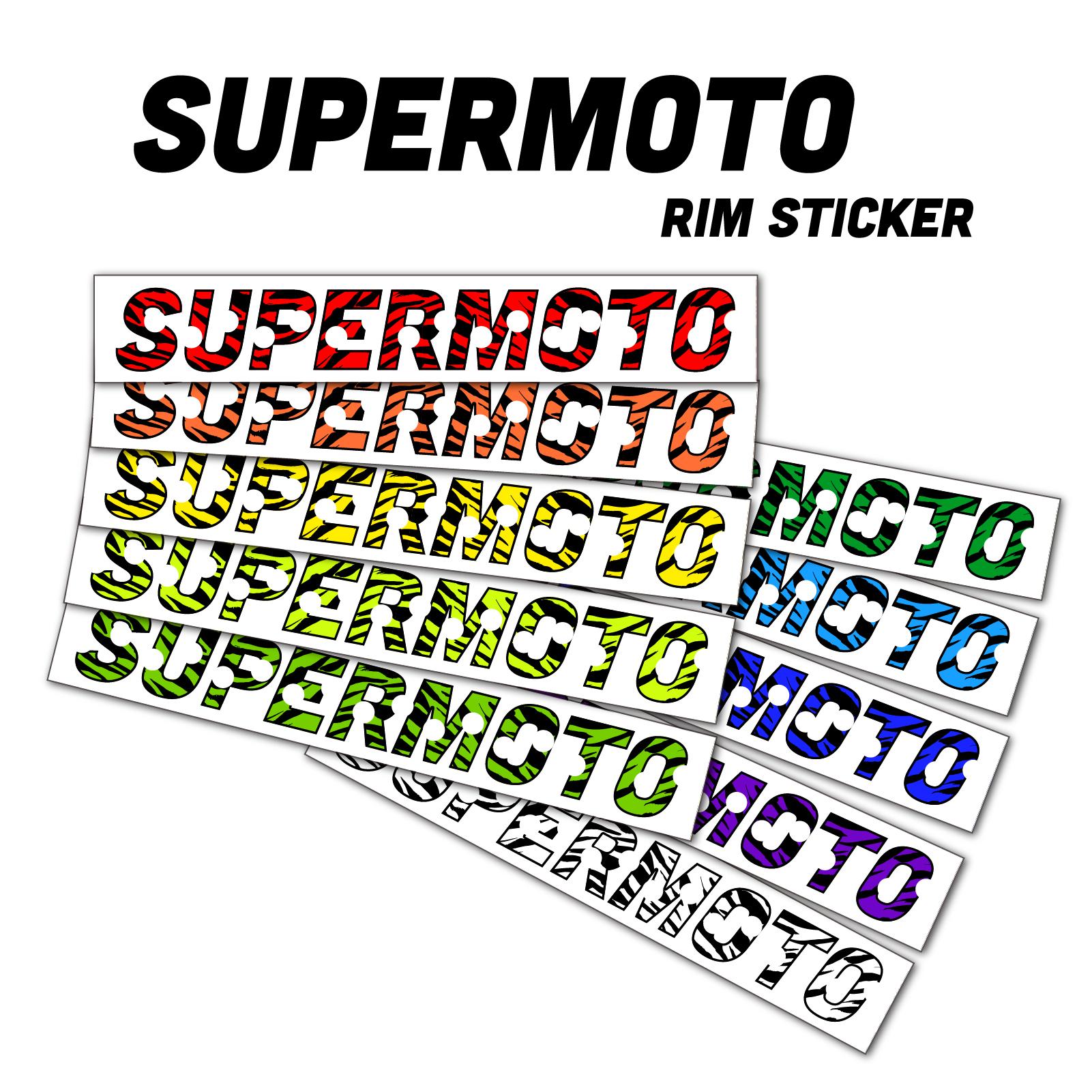 2 Tons Am/éthyste Autocollant de Jante de Moto Inner Rim Tape pour Kawasaki ER6N